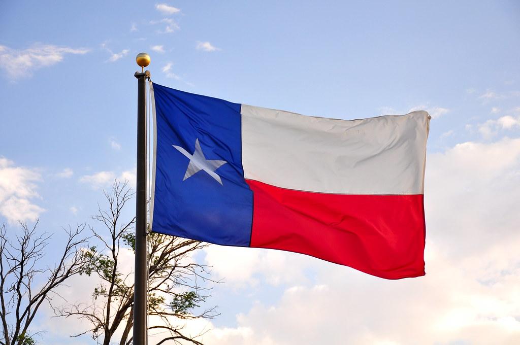 Texas state flag; Texas critical race theory