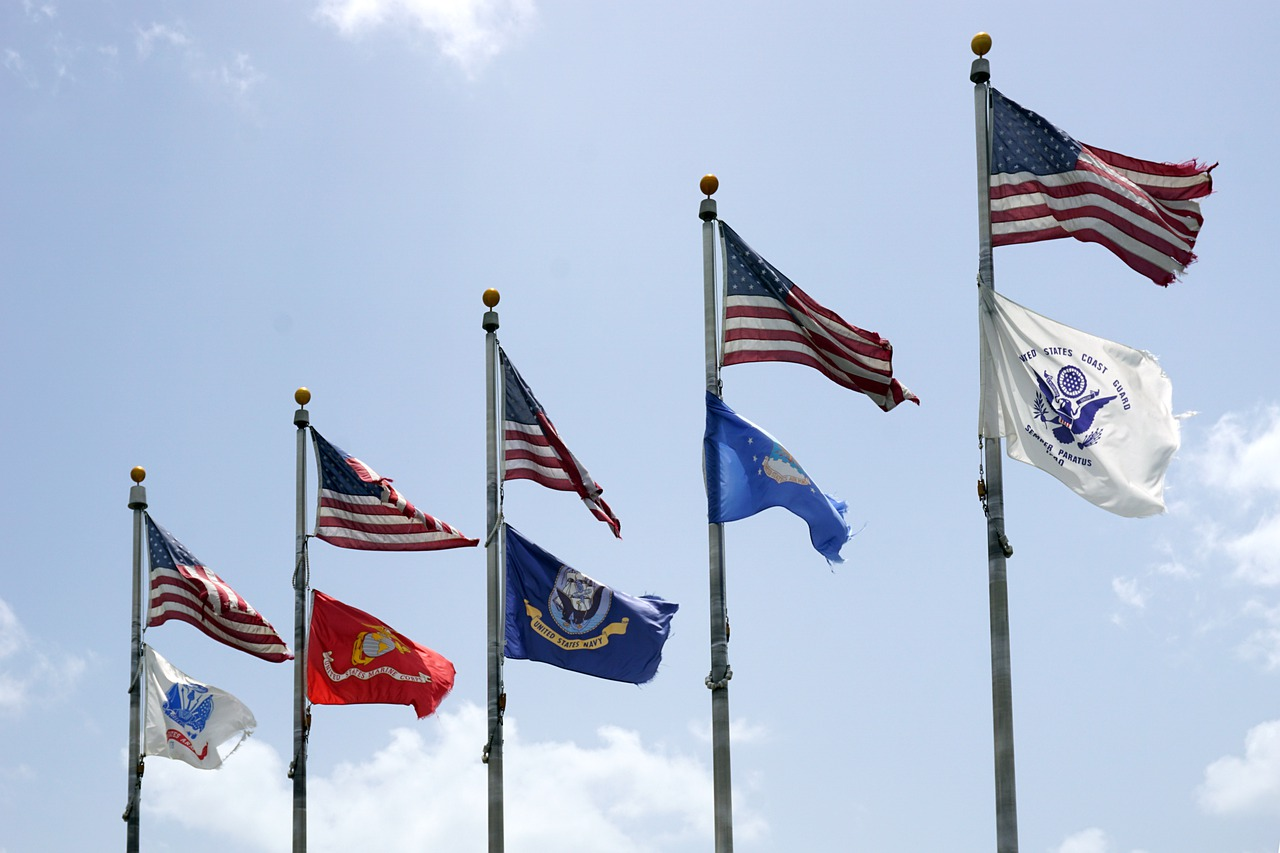 U.S. Military Flags; Biden administration Afghanistan